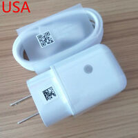 OEM Fast Rapid Wall Charger + USB Type-C Cable LG V40/V30/V35 ThinQ/V20 G7