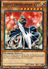 Silent Swordsman LV7 YGLD-ENC06 1st (Mint X 3) YUGIOH Common Effect Monster