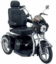 Drive Easy Rider 8mph Luxury Mobility Scooter 3 Wheel Black Motorbike Suspension