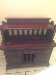 hutch, hand made, old
