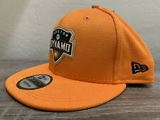 New Era Houston Dynamo On Field 9FIFTY Snapback Cap MLS NWT Hat
