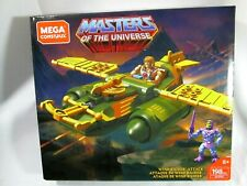 Masters of the Universe Wind Raider Attack Mega Construx  He-Man Skeletor NEW