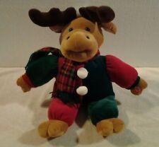 "DanDee 17"" plush animated musical sitting ""Christmas Reindeer"" - Rare"