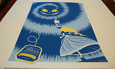 Alice's Adventures in Wonderland Blue Eric Tan Poster Print Signed Numbered 2011