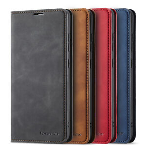 For Samsung Galaxy A52 A72 A12 5G Luxury Magnetic PU Leather Wallet Case Cover