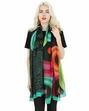 Summer Spain DESIGUAL scarf National women shawl womens scarves wrap big shawl#8
