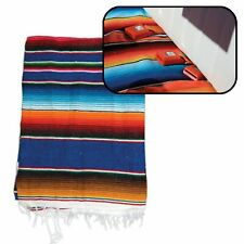 Hot Rod Interior Kit - Blue Authentic Mexican Indian Blanket nascar bbc early
