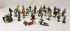 Vintage O Scale Hand Painted 35 People Figures Accessories Lot