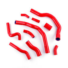 Fit 2001-2006 Mini Cooper S R52 R53 Silicone Radiator Hose Cooling Pipe Kit Red