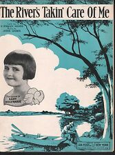 The River's Takin Care of Me 1933 Baby Rose Marie-Van Dyke Show Sheet Music