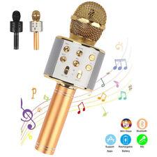 Mikrofone für Kinder MIC Wireless Erwachsene Karaoke Bluetooth Handmikrofon