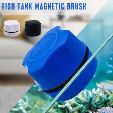 Aquarium Fish Tank Magnetic Clean Brush Glass Algae Scraper Cleaner Scrubber po