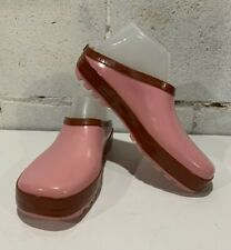 Western Chief Womens Pink Rubber Slip On Shoes Size 7