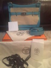 BNWT AUTH HERMÈS SAC JYPSIERE 31 TAURILLON CLEMENCE IN BLEU SAINT CYR SOLD OUT