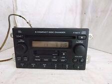 05 06 Honda CR-V Radio 6 Disc Cd Cassette XM & Code 1TN2 39100-S9A-A601 C75270