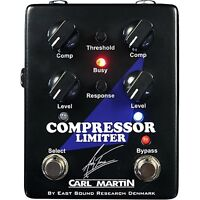 Carl Martin Andy Timmons Compressor Limiter Guitar Effects Stompbox Pedal