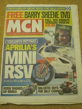 MCN - MOTORCYCLE NEWS - APRILIA'S MINI RSV - 31 March 2004