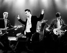The Smiths Morrisey Victory Salute BW 10x8 Photo