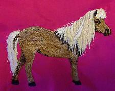 Personnalisé poney Shetland chapeau équitation / toilettage / sac à cordons