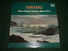 Grieg Peer Gynt Suites Nos. 1 & 2 Hans Haber/Vienna Peoples Opera~1978 Classical