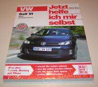 Reparaturanleitung VW Golf VI / Golf 6 Diesel - ab Modelljahr 2009