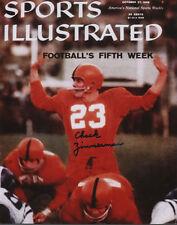 Chuck Zimmerman Syracuse Football SIGNED Sports Illustrated 8x10 Photo COA!