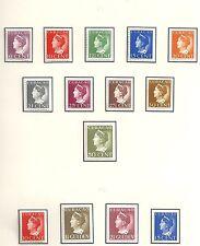 Curacao 1941 NVPH 141-152  MLH  VF