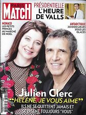 PARIS MATCH N°3525 08/12/2016 JULIEN CLERC/ VALLS/VICTORIA'S SECRET/ ANTARCTIQUE