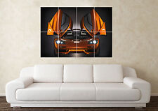 Large McClaren F1 Supercar Sport Car Wall Poster Art Picture Print