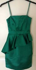 """Bnwt""""Whistles""""Size 16 Bea Green Shift Dress Evening Cocktail Cruise New £195"""