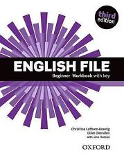 English File: Beginner: Workbook with key by Oxenden, Clive, Hudson, Jane, Latha