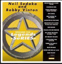 KARAOKE CDG  LEGENDS SERIES  VOL 124  Neil Sedaka/Bobby Vinton 17 TRACKS