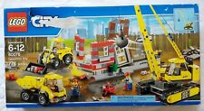 LEGO City Construction 60076 ~ Demolition Site ~ Opened box, Sealed bags