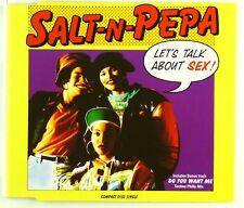 Maxi CD - Salt-N-Pepa - Let's Talk About Sex! - A4130
