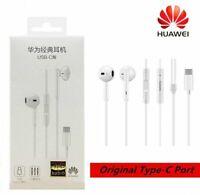 Original Huawei P20 P20Pro Mate20 10 Type-C Earphones Stereo Headset Headphones
