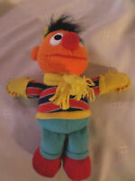 "Fisher-Price Ernie Sesame Street 9""  Plush Soft Toy Stuffed Animal"