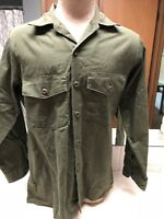 1984 US Military Utility Shirt - Size 15 1/2 X 33