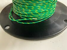 Wire Mil Spec Ptfe 20 Awg Stranded 25 Ft Greenyellow