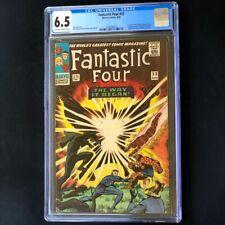Fantastic Four #53 💥 CGC 6.5 💥 2nd App of Black Panther & 1st Klaw! Comic 1966