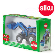 SIKU No 1986 1:50 Farmer Series New Holland T7070 Tractor & Front Loader DieCast