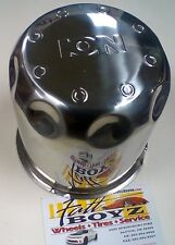"ION CHROME CENTER CAP  *****NEW***** (4"" H x 4.5"" DIA)"