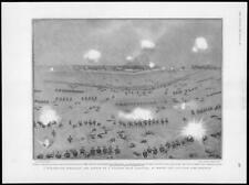 1904 Antique Print - RUSSO-JAPANESE WAR Liaoyang Infantry Bayonet Village (149)