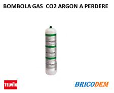 BOMBOLA GAS CO2 ARGON A PERDERE NON RICARICABILE SALDATRICI FILO CONTINUO TELWIN