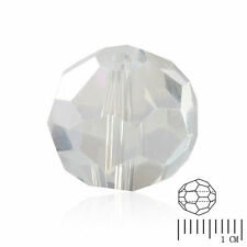 100pcs Crystal Beads Facted Fit Round Necklace Jewelry Crystal AB 6mm Wholesale