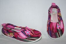 Dora the Explorer Girls Flats Size 7 Pink Multi Colored Shoes