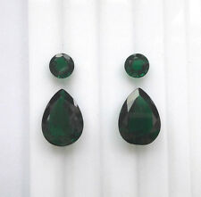 Emerald Nano with inclusion SET Pears+Rounds total weight 26.03ct