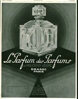 Publicité ancienne Parfum de Molinard Jeune 1929 issue de magazine