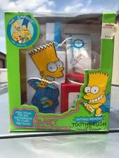 Vintage 1990 The Simpsons Bart Simpson Toothbrush Set - New in Package