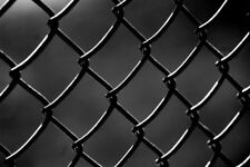 Black PVC-Coated Chain-Link Fence/Cyclone Fence 1.8mx20mx60*60mmx3.3mm