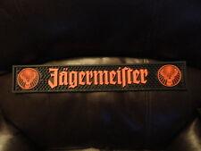 JAGERMEISTER JAGER BAR RAIL RUBBER MAT - Brand New! 21 X 3 1/2 INCHES